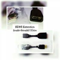SAMBUNGAN HDMI 10CM MALENTO FEMALE