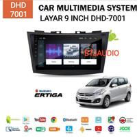 HEAD UNIT TAPE TV MOBIL DOUBLE DIN ERTIGA/SWIFT OS ANDROID LAYAR LEBAR
