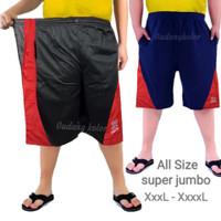 Celana Pendek Pria Polos Kaos SUPER BIG SIZE JUMBO