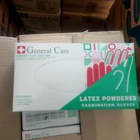 Sarung Tangan Latex General Care Examination Gloves 100pcs/box