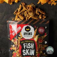 [HOT BOOM] IRVINS Salted Egg Fish Skin Spicy (105 gr)