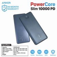 PowerBank Anker PowerCore Slim PD 10000 mAh Midnight Green - A1231