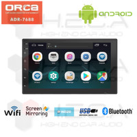 ORCA ADR-7688 Android 7 inch Head Unit Double Din Tape Mobil Audio