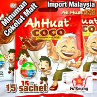 Ah Huat Coco Minuman Cokelat Chocolate Malt Drink 465 gram