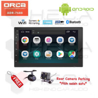 ORCA ADR-7688 Android 7 inch Head Unit Double Din Tape Mobil & Camera