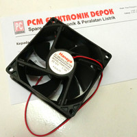 FAN 12v 8cm x 8cm Brushless Cooling cooler Exhaust DC 12 volt