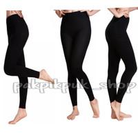 Celana legging polos panjang kualitas terbaik model high wais - Hitam