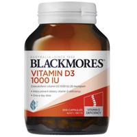 Blackmores Vitamin D3 1000iu 200 capsule ORI AUSSIE