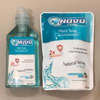 PAKET HEMAT Nuvo hand soap botol 250ml dan Nuvo hand soap refill 250ml