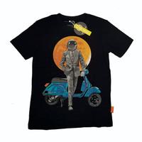 T-shirt cotton combed 30s / VESPA MAN / THINKCOOKCOOK