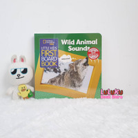 National Geographic Kids Little Kids Board Book WILD ANIMAL SOUNDS
