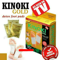 Koyo Kaki Kinoki Gold Detox Herbal 1pack isi 10pcs
