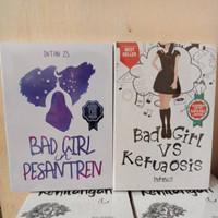 Set 2 Novel Bad Girl vs Ketua osis dan Bad Girl in Pesantren - Intansz