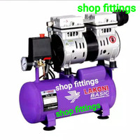 LAKONI Basic 9 S Kompresor Angin 3/4 HP OilLess Silent Air Compressor