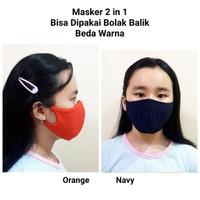 Masker Kain 2 lapis / Masker Anti Debu/ Masker Berkendara