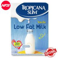 Tropicana Slim Low Fat Milk Vanilla 500g /Susu Rendah Lemak 500gr 500