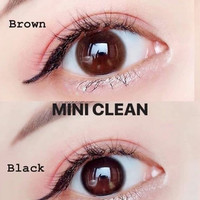 Softlens Mini Clean Black Original ( kitty kawaii )
