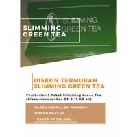 PELANGSING SLIMMING GREEN TEA PAKET EKSKLUSIF (8-15 KG)