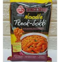 Ottogi Noodle Tteokbokki - Rabokki - Ramyeon Tteokbokki 436gr - Rice Topokki