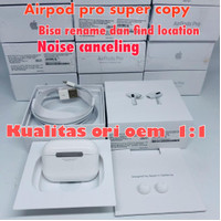Apple Airpods PRO 2019 Clone 1 1 Super Copy bisa rename dan gps