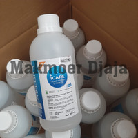 Implora Icare Hand Sanitizer 500ml Cair Refill not Onemed Aseptic Gel