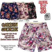 Garden Shortie 38 Celana Pendek Rumah Wanita Di Rumah Aja Nyantai