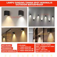 Lampu Dinding Minimalis Taman Pilar Outdoor Waterproof JJ90 JJ92