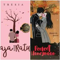 Paket 2 Novel Perfect Honeymoon dan Novel Raja untuk Ratu