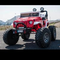 mobil mainan anak aki jeep rubicon monster unikid
