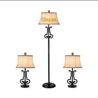 Lampu Hias Set | 2 lampu meja & 1 lampu Lantai