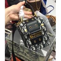 Tas wanita C Dior Mini Free Box premium quality slingbag wanita dior