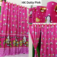 Gorden Murah Hello Kitty Smokering Pink Terbaru