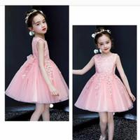Dress Brukat/Dress anak/Gaun import/Gaun pesta