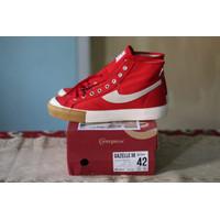 Sepatu Compass Gazelle Hi Red Gum