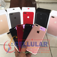 Iphone 7 plus 128gb bekas ori fullset