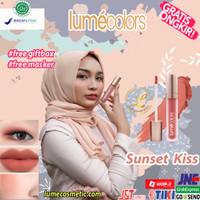 LUMECOLORS VELVET LIP & CHEEK MOUSSE - SUNSET KISS