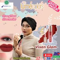 LUMECOLORS VELVET LIP & CHEEK MOUSSE - VIXEN GLAM