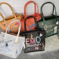 Tas ghoyart Free Pouch totebag wanita import premium quality tote bag