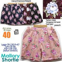 Mallory Shortie 40 Celana Pendek Rumah Wanita Lucu Katun Adem BigSize