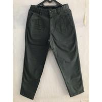 UNIQLO Dark Green Reguler Ankle Chino Pants size 29