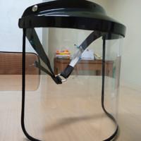 faceshield safety helm medis untuk aktivitas keluarga nyaman
