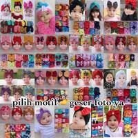 topi turban turban bayi ciput bayi turban anak warna kombi