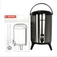 Termos Jumbo Sigma 12 Liter / Drink Jar. Termos Air Kran