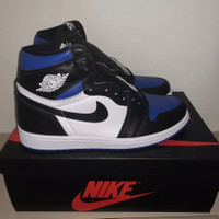 Nike Air Jordan 1 High OG Game Royal Toe Size 8 / 41.5 BNIB Original