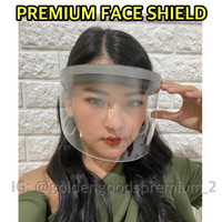 Helm Corona / Topi Anti Corona / Face Shield / Anti Droplet