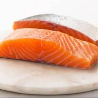 Norwegian Salmon Fillet Portion 200g Frozen Boneless with skin - 200g
