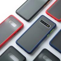 Samsung S8 Plus Shockproof Transparent Matte Case