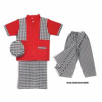 Baju koko anak laki laki SarKoCi ABG (Sarung Koko Peci) 10 - 15 Th