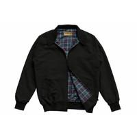 Harrington Jacket HITAM by Vandermay Harrington Jaket pria Dewasa