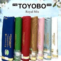 Multi kain katun cotton TOYOBO Royal Mix RM exclusive import murah